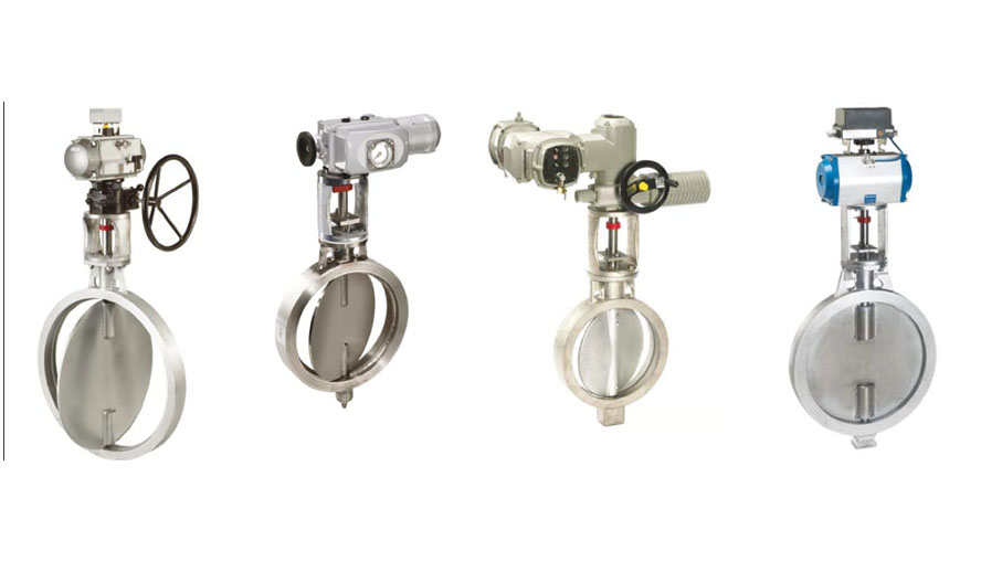 butterfly and control valve