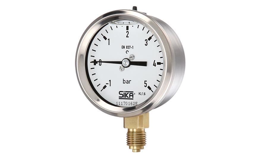 Manometer with manometric tube