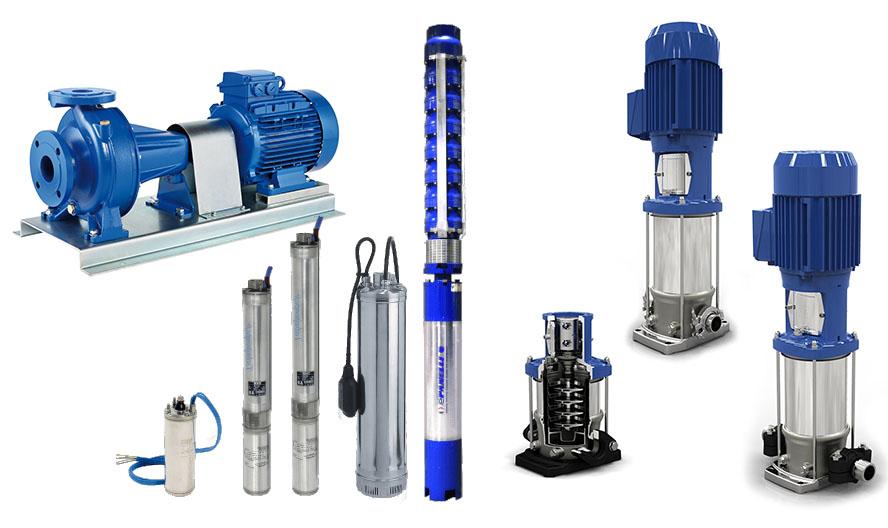 pumps accessories EKII